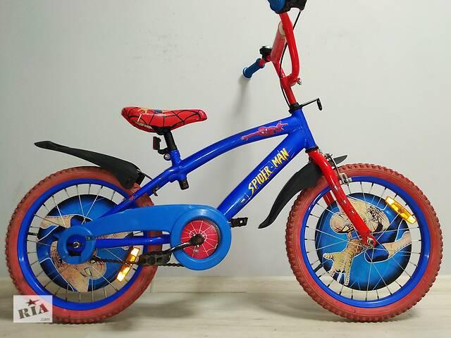 Велосипед SpaiderMen 5-9 років- объявление о продаже  в Сєверодонецьку