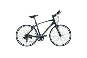 Велосипед Trinx Free 1.0 700C*470 Matt-Black-Grey-Green (10030058)