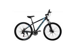 Велосипед Trinx Majestic M136Elite 2019 27. 5 & quot;21 & quot;Матово-чорний-синьо-сірий (M136Elite. 21MBBG)