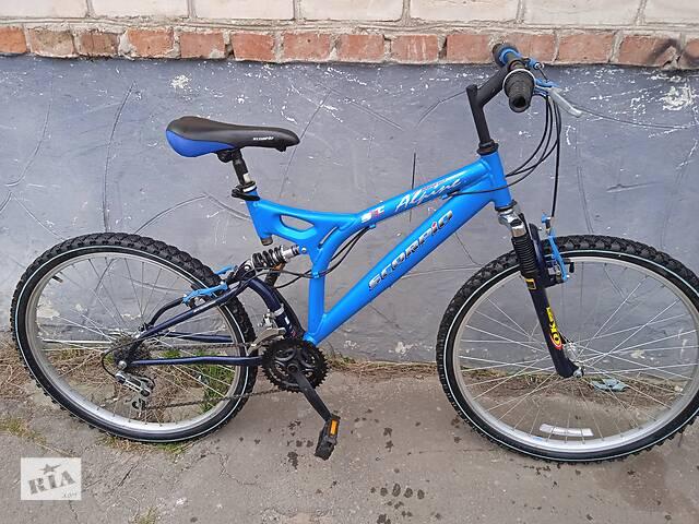 продам Велосипед С Германии SCORPIO Алюминиевый бу в Турийске