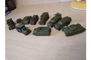 Воєнная техніка+солдатики СССР