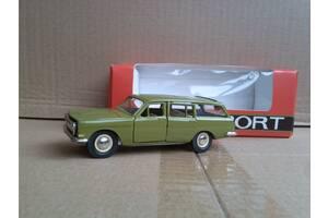 Волга ГАЗ 2402 оливкова, номерний, з коробочкою