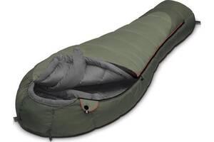 Зимний спальный мешок Aleut ALEXIKA 9232.0107.R, оливковый
