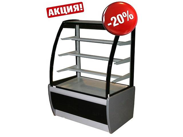 купить бу Холодильная кондитерская витрина ВХСв 0,9 CARBOMA ТЕХНО в Киеве