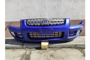 Kia Sportage II 2004 - бампер передний в сборе