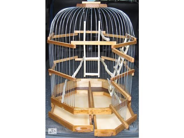 Клетка для птиц больших размеров.- объявление о продаже  в Киеве