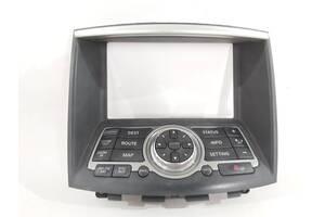 кнопки управления дисплеем для  Infiniti EX35 `09-12 , 28395-1BA1D