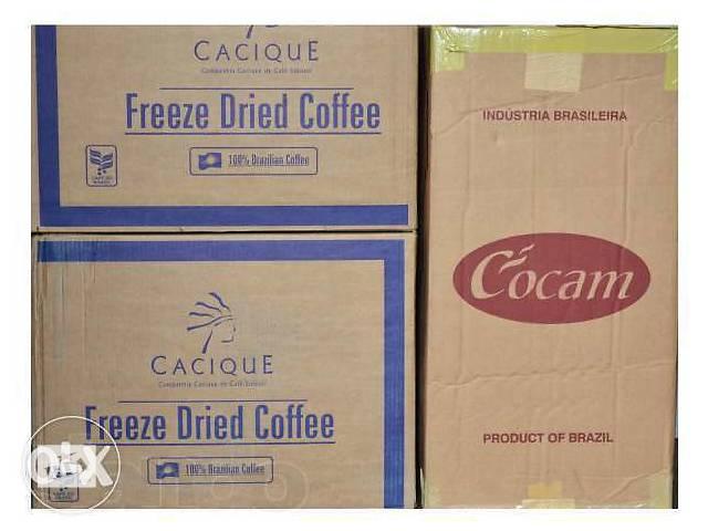 Кофе на развес Оптом в ящиках Кокам, Касик, Игуацу, Китай, Малайзия- объявление о продаже  в Киеве