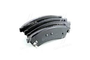 Колодка тормозная дисковая задняя CHEVROLET EPICA 2.0 06- (пр-во ABS)