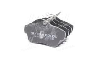 Колодка тормозная дисковая задняя CITROEN JUMPY 1.6 2.0 07-, FIAT SCUDO,PEUGEOT EXPERT (пр-во Intelli)