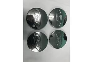 Колпачки под оригинальные диски 50мм V2 (4 шт) Ford Ranger 2007-2011 гг. / Колпачки на диски Форд Рейнджер