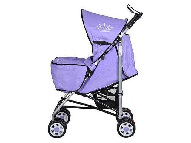 Коляска детская BAMBI ARIA S1-7, фиолетовый- объявление о продаже  в Киеве