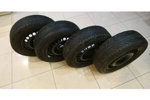 Комплект: 4 (четыре) Шины 195/65 R15 Uniroyal Rallye 550 + 4 (четыре) Диска VW Audi 6Jx15H2 5x112