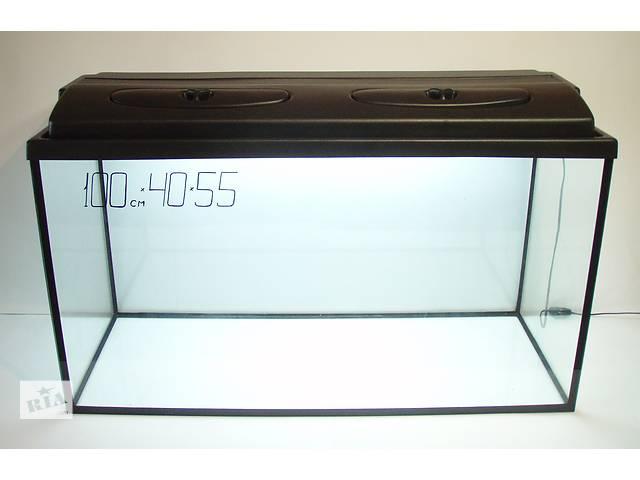 купить бу Комплект: аквариум 220л +крышка на 2 лампы. в Днепре (Днепропетровск)