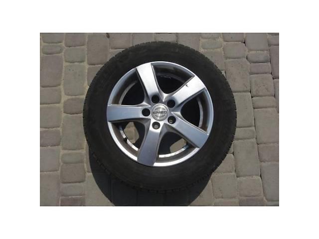 бу Комплект гуми (4 шт) R15 з литими дисками (титанами) Форд Коннект в Луцке