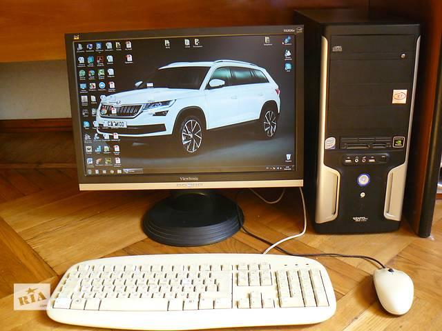 бу Компьютер Intel Core2Duo 2.53GHz + Монитор ViewSonic VA2026w в Василькове (Киевской обл.)
