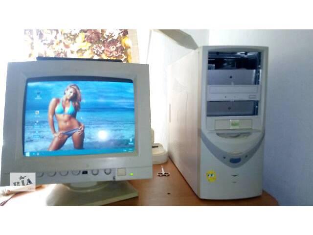 продам компьютер с монитором бу в Львове