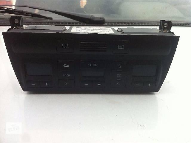 купить бу Кондиционер, обогреватель, вентиляция Блок управления печкой/климатконтролем Легковой Audi A6 2000 в Запорожье