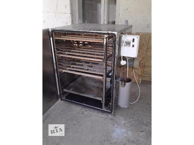 продам Коптильни горячего копчения, коптильни холодного копчения от 10 кг до 100 кг загрузки бу в Херсоне