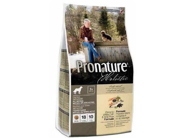Корм для собак Pronature Holistic (Пронатюр Холистик) с океанической белой рыбой и диким рисом- объявление о продаже  в Харькове