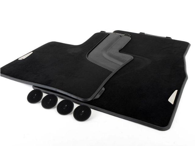 купить бу Оригінальні килимки для BMW X5 (F15) текстильні передні (чорні) в Одессе