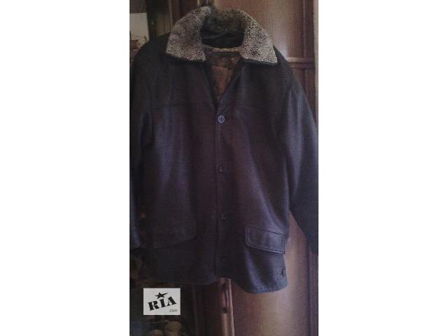 Кожаная мужская курточка- объявление о продаже  в Хмельницком