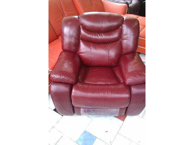 продам Кожаное кресло-реклайнер R-137 бу в Одессе