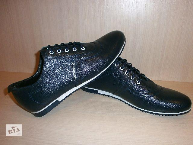бу Туфли мужские кроссовки, кожа! Basconi - качество - супер в Киеве