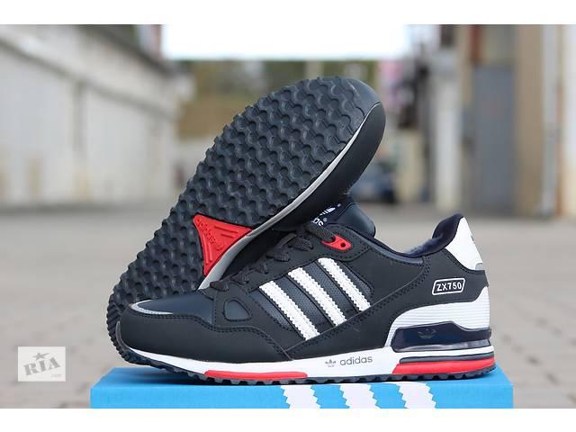 купить бу Кожаные зимние кроссовки Adidas ZX 750 синие    в Хмельницком