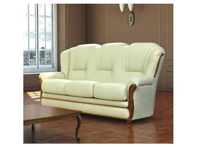 купить бу кожаный комплект ,Diana, мягкая мебель Польша, кожаный диван в Дрогобыче