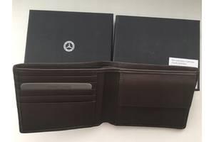 Кожаный кошелек Mercedes-Benz Коричневый Новый Оригинальный