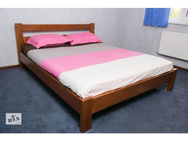 купить бу Кровать деревянная 1.6 *2.0 м Яблоня и 0.8*2.0 м в Киеве