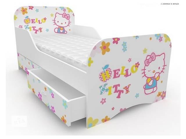 Кровать Хелло китти для девочек- объявление о продаже  в Львове