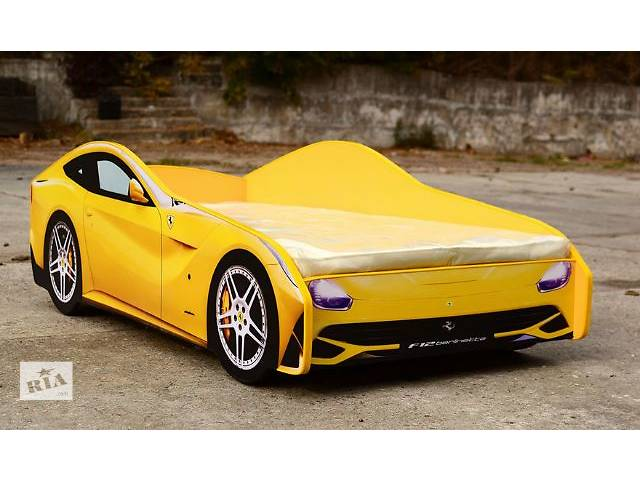 продам Кровать-машина Ferrari (желтая) бу в Киеве