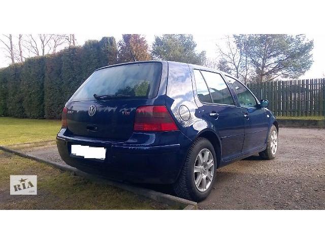 купить бу Кришка багажника для хетчбека Volkswagen Golf IV 2001 в Львове