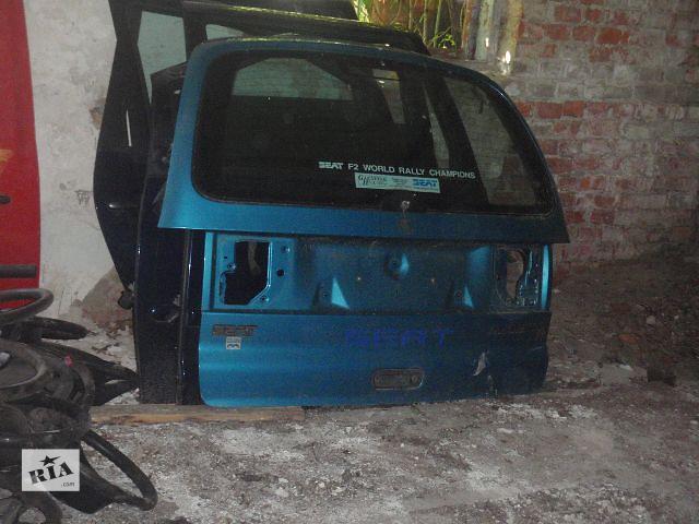 купить бу крышка багажника для Seat Alhambra, 1998 в Львове