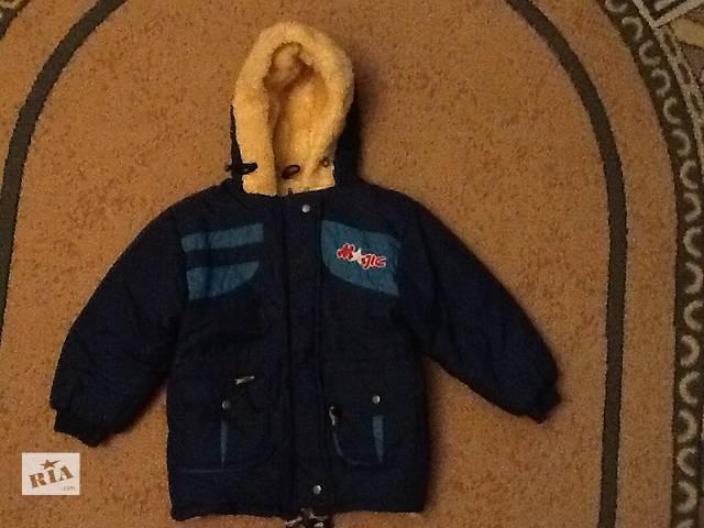 купить бу Куртка детская зимняя размер 116 в Киеве