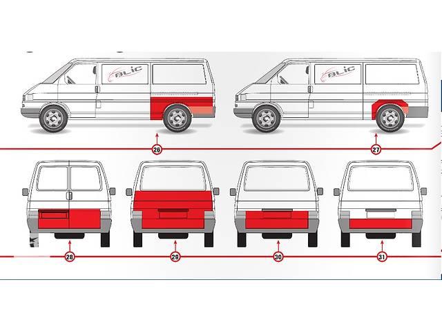 продам Кузов для легкового авто Volkswagen T4 (Transporter) бу в Дрогобыче
