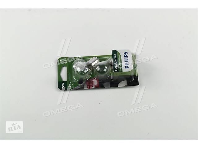продам Лампа накаливания P21W 12V 21W BA15s LongerLife EcoVision 2шт blister (пр-во Philips) бу в Харькове