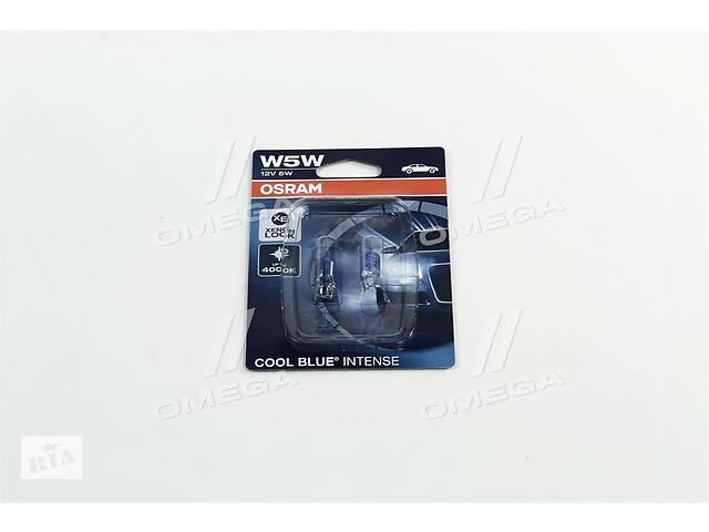 бу Лампа вспомогательного освещения W5W 12V 5W W2.1x9.5d Cool Blue Intense (2 шт) blister (пр-во OSRAM) в Харкові