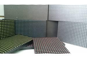 Led светодиодные модули (дисплеи) для изготовления бегущих строк и экранов