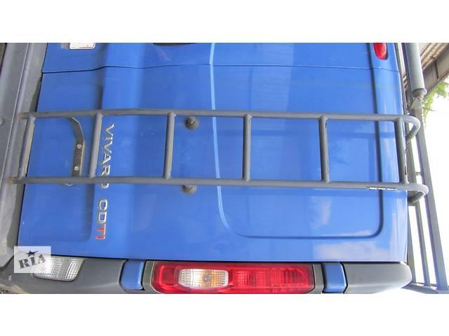 продам Лесница на дверь заднюю (можно с дверью) Renault Trafic Рено Трафик Opel Vivaro Опель Виваро Nissan бу в Ровно