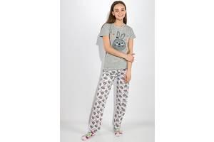 Пижама женская 317F019 цвет Серый