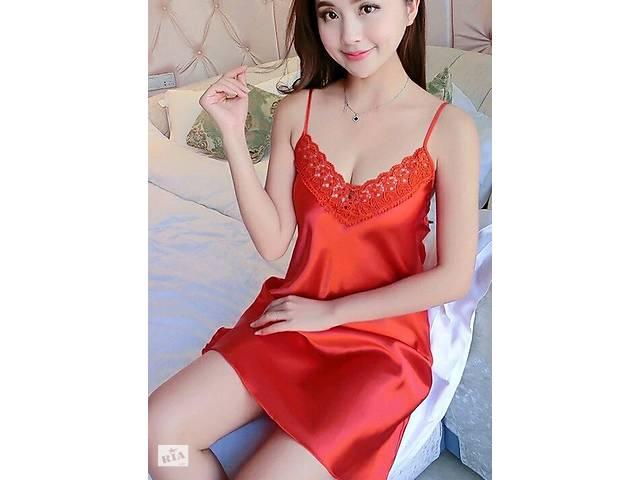 6d634f2abd79 купить бу Соблазнительная ночная сорочка с кружевом красного цвета в  Чернигове