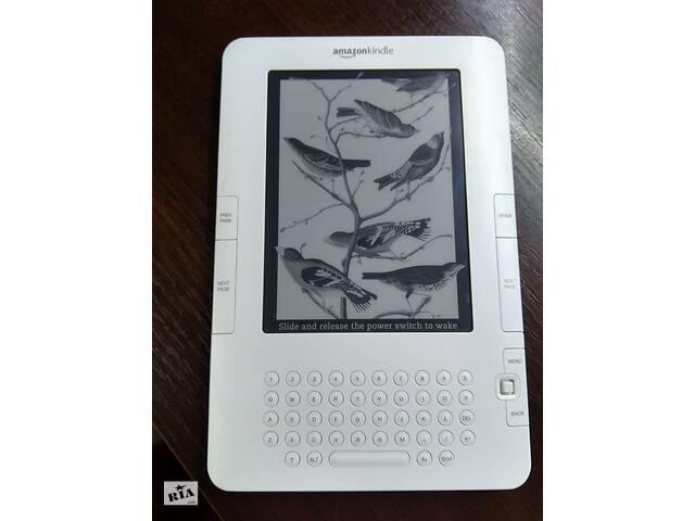 купить бу Электронная книга Amazon Kindle 2 (D00701) из США. Браузер ! MP3.Русский шрифт. в Києві