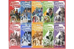 ✅ Продам Academy Stars 1 2 3 4 5  Pupilsbook + workbook комплект