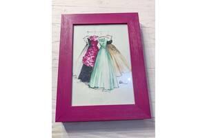 Продам рамки для фото, дерево+стекло, очень качественные