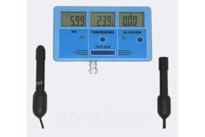 Стационарный комбинированный монитор РН-026 pH, EC, CF, TDS, Temp - monitor