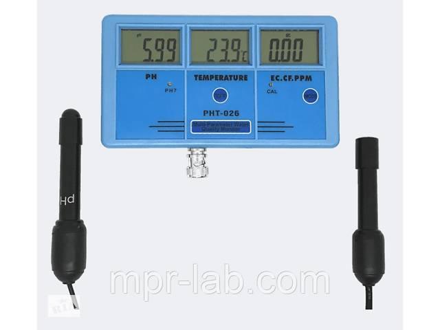 продам Стационарный комбинированный монитор РН-026 pH, EC, CF, TDS, Temp - monitor бу в Львове