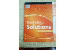 Підручники з англійської Solutions 3rd edition Upper-intermediate SB + WB